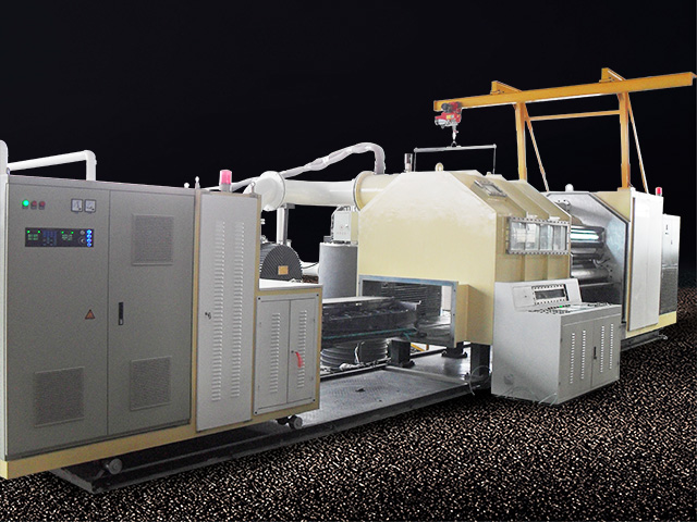 Gold and silver paper coating machine